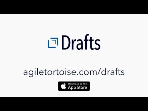 This Video Series Explains How to Use Drafts for Text Automation on iOS