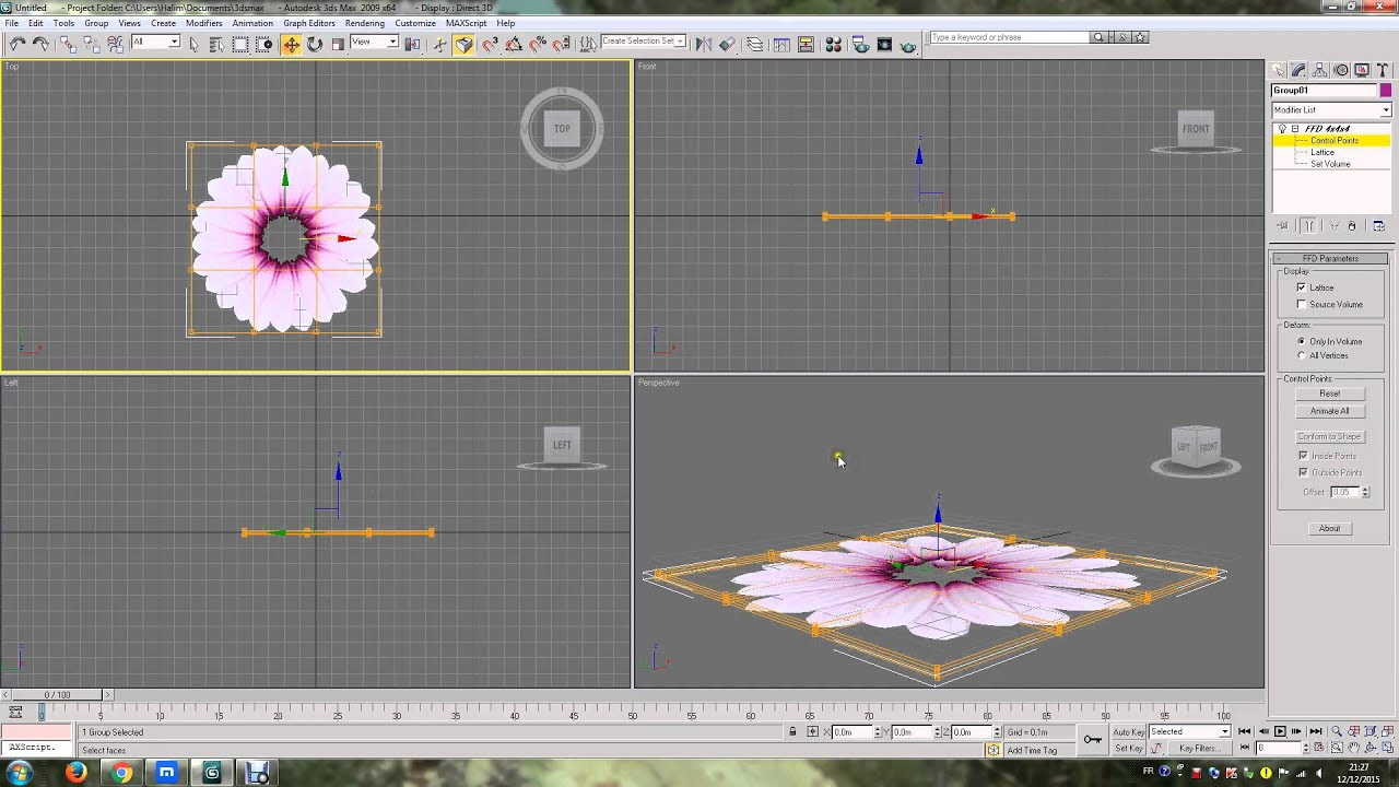 HDPlants 3 - collection of realistic flowers and grasses for 3ds max 2012