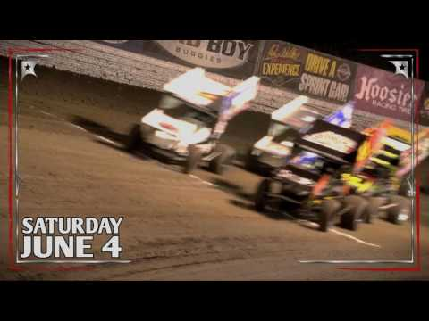 World of Outlaws at I-96 Speedway