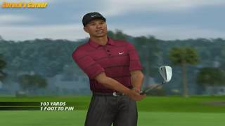 Tiger Woods PGA Tour 2005 - Playstation 2 GamePlay
