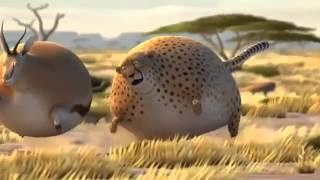 Как бы выглядела охота в Африке, если бы животные потолстели?
