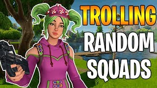 🤬 TROLLING RANDOM KIDS IN FORTNITE 🤬