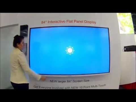 "Hitachi FHD8410 / FHD8410PC - 84"" Interactive Flat Panel Display"