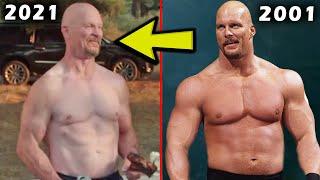 5 Saddest WWE Body Transformations 2021 Stone Cold Steve Austin 2021 Physique