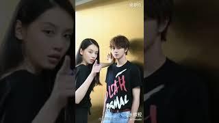 Sun Yi Han u0026 Darren Chen for 微视APP (2)