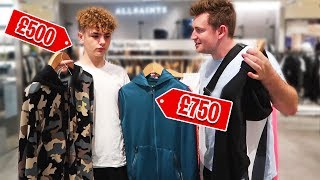 BROTHERS GO ON A SHOPPING SPREE