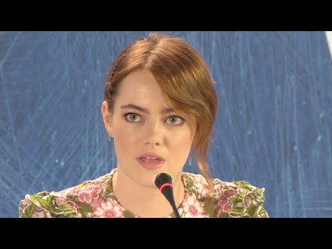 La La Land | Venice press conference (2016) Emma Stone fragman