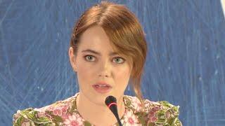La La Land | Venice press conference (2016) Emma Stone