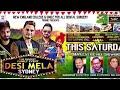 Kulwinder Billa | Desi Mela 2016 Australia NZ tour | Sandeep Brar | Pamma Dumewal | Resham Anmol