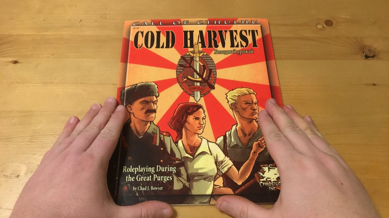 Download Cold Harvest for Call of Cthulhu 7th Edition by Chaosium