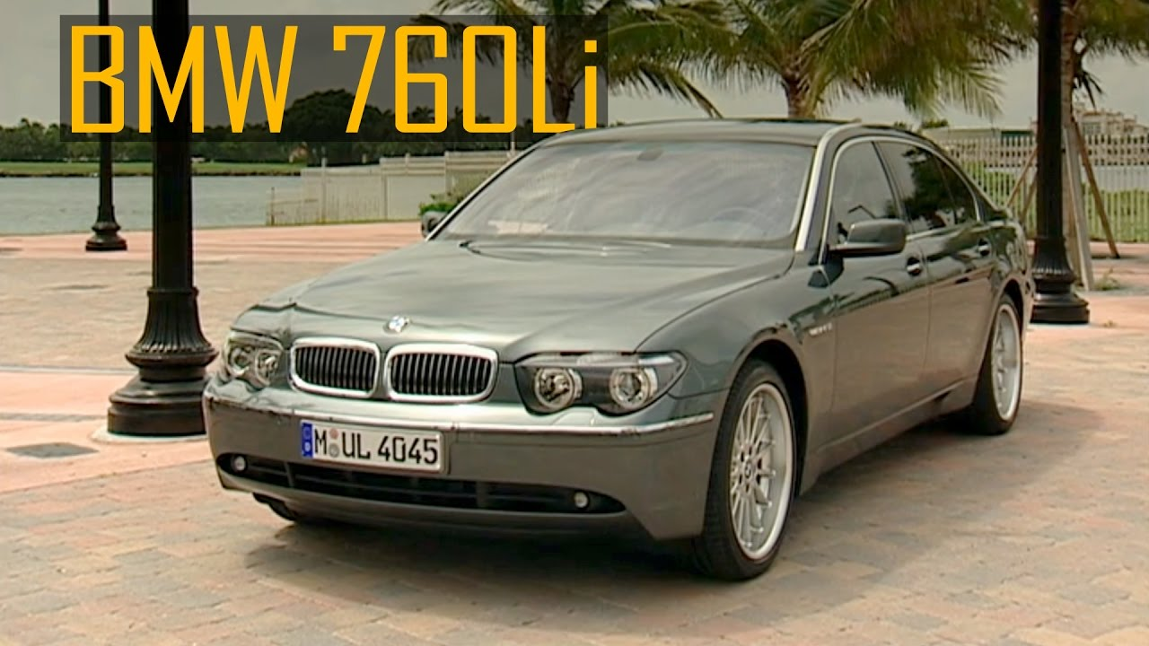2003 BMW 760Li - Driving+Interior+Exterior (E66 7 Series) - YouTube