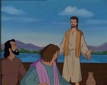 Un sentiero con gesù video cartoni sulla bibbia