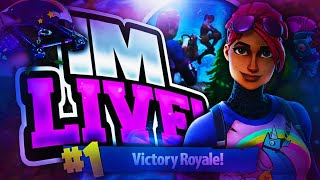 FORTNITE NEW SUSHI MASTER SKIN!! GOING FOR HIGH KILLS... TOP CONSOLE BUILDER | FACE CAM