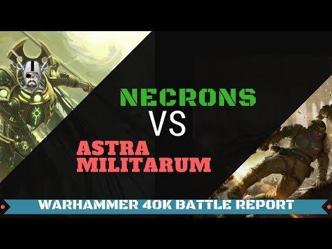Necrons vs. Astra Militarum