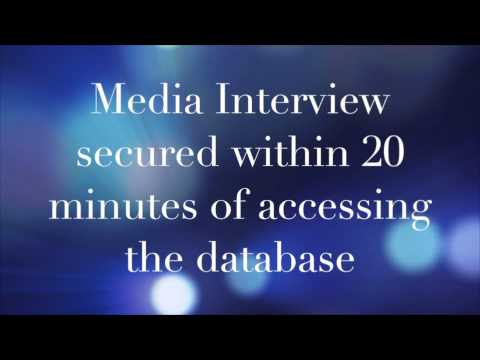 Media Database Success within 20 minutes