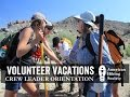American Hiking Society Volunteer Vacati