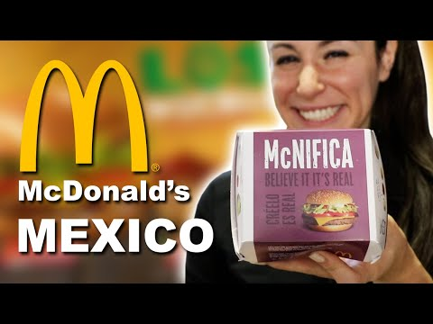 WE EAT McDONALD'S IN MEXICO // TOP 16 THINGS