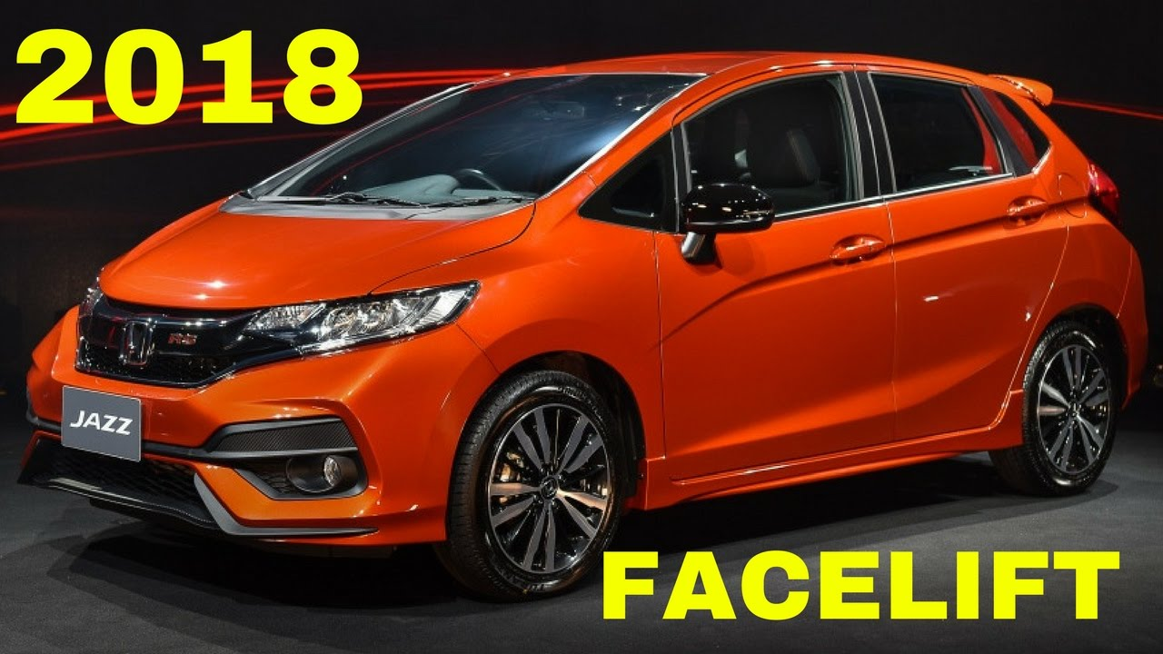 2018 HONDA JAZZ/FIT FACELIFT - YouTube