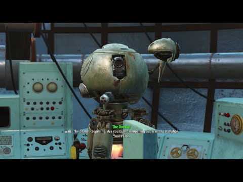 Fallout 4 - The Grand Reopening Of General Atomics Galleria
