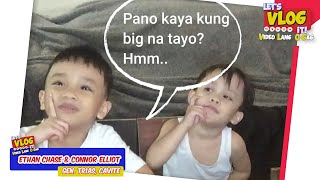 LET'S VLOG IT - GAWAING BAHAY - ETHAN AND ELLIOT