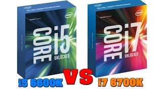 i5 6600k vs i7 6700k   gtx 1070 gaming benchmarks