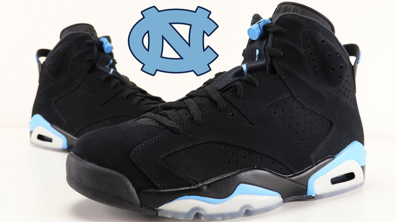 the best attitude b981e 90621 AIR JORDAN 6 UNC UNIVERSITY BLUE REVIEW