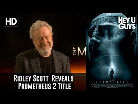 Ridley Scott says the first Prometheus sequel will be called Alien: Paradise Lost