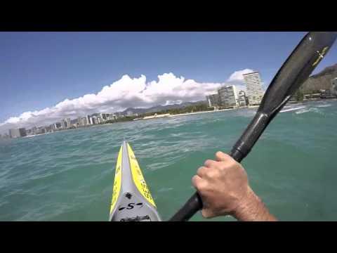 Surfski fun, Honolulu HI