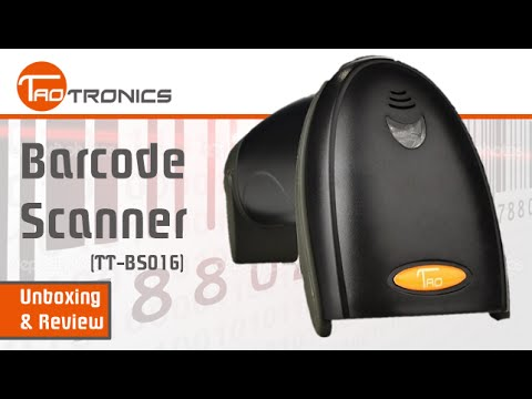 Unboxing & Review: TaoTronics Barcode Scanner (TT-BS016) (HD) | GeekHelpingHand