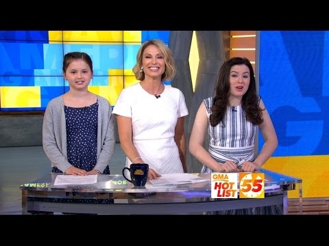 'GMA' Hot List: Amy Robach and her daughters announce the news on Take Your Kid to Work Day
