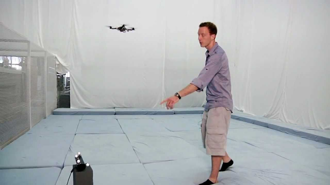 Interaction with a Quadrotor via the Kinect, ETH Zurich