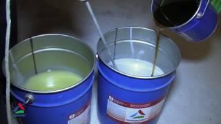 видео Наливные полы из полиуретана