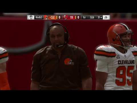 Cleveland Browns vs Tampa Bay Buccaneers Madden 19 Full Game Simulation Nation