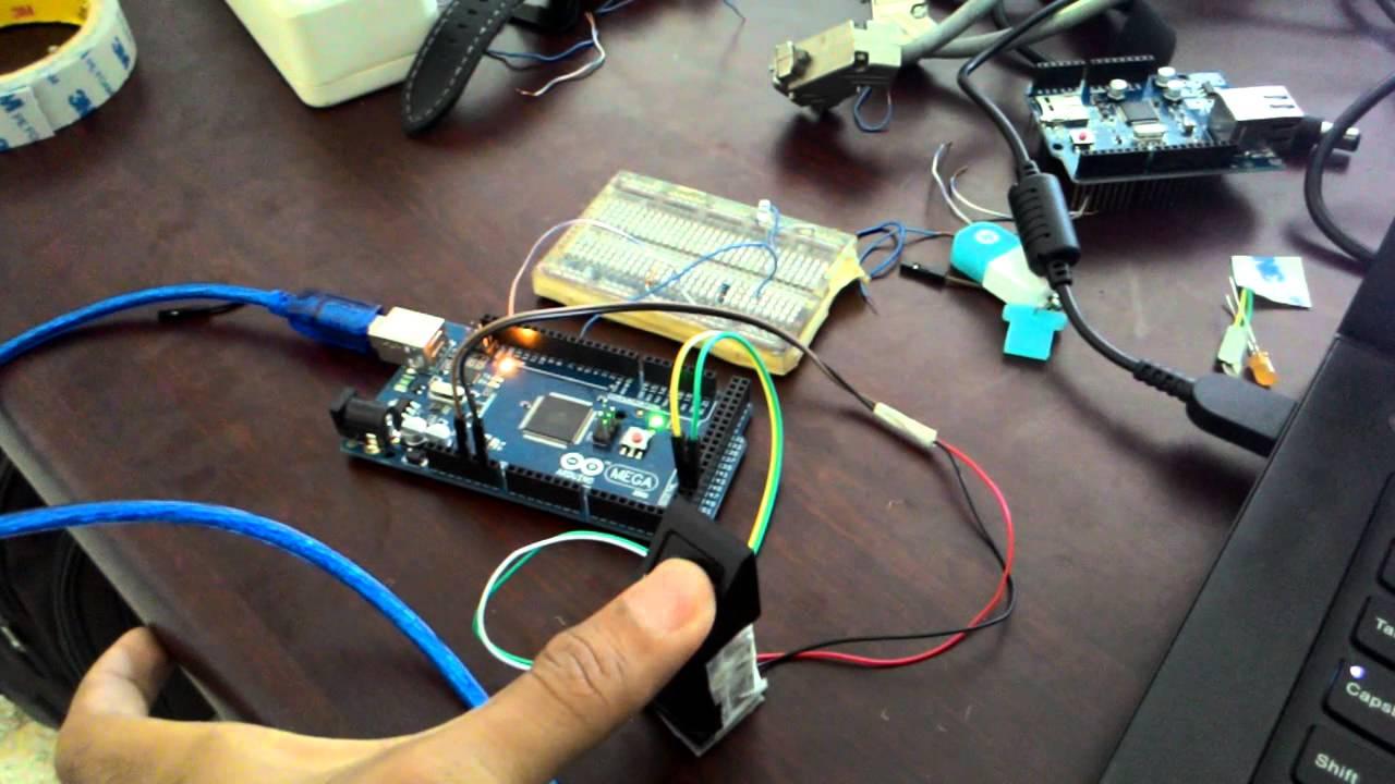 arduino mega 2560 fingerprint adafruit turn ON led