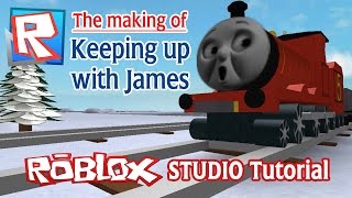 The Making of 'Keeping Up with James' | Roblox Studio Tutorial (Script)