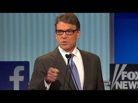 Is Donald Trump getting the better of Rick Perry? | Fox News Republican Debate