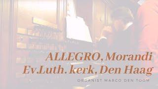 MARCO DEN TOOM - Allegro, Morandi | Ev.Luth. kerk, Den Haag (NL)