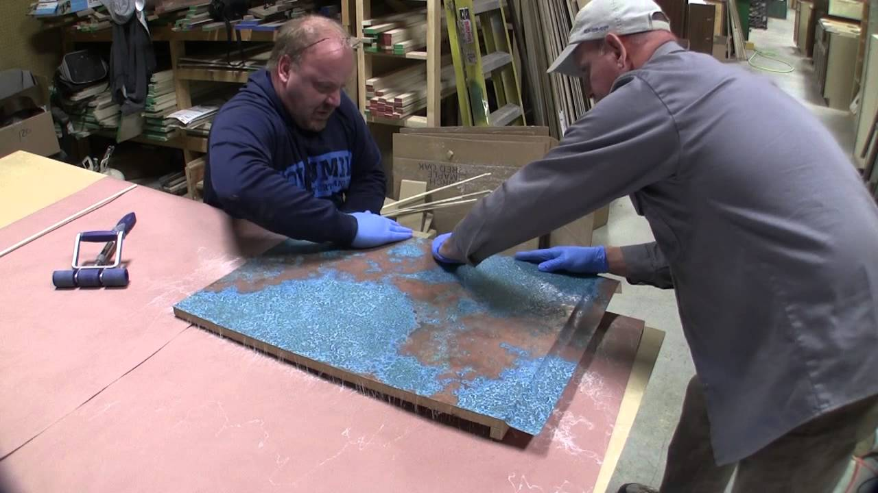 How To Make Custom Copper Countertops   YouTube