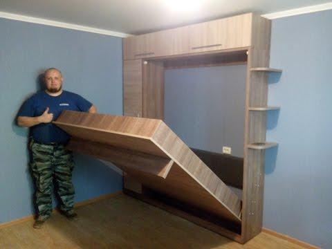 подъемная двуспальная кровать с пеналом и антрисолью ростов на дону 1