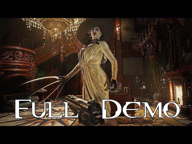 Resident Evil Village Gameplay Walkthrough Part 1 (Resident Evil 8 Castle Demo) [Castle Dimitrescu]