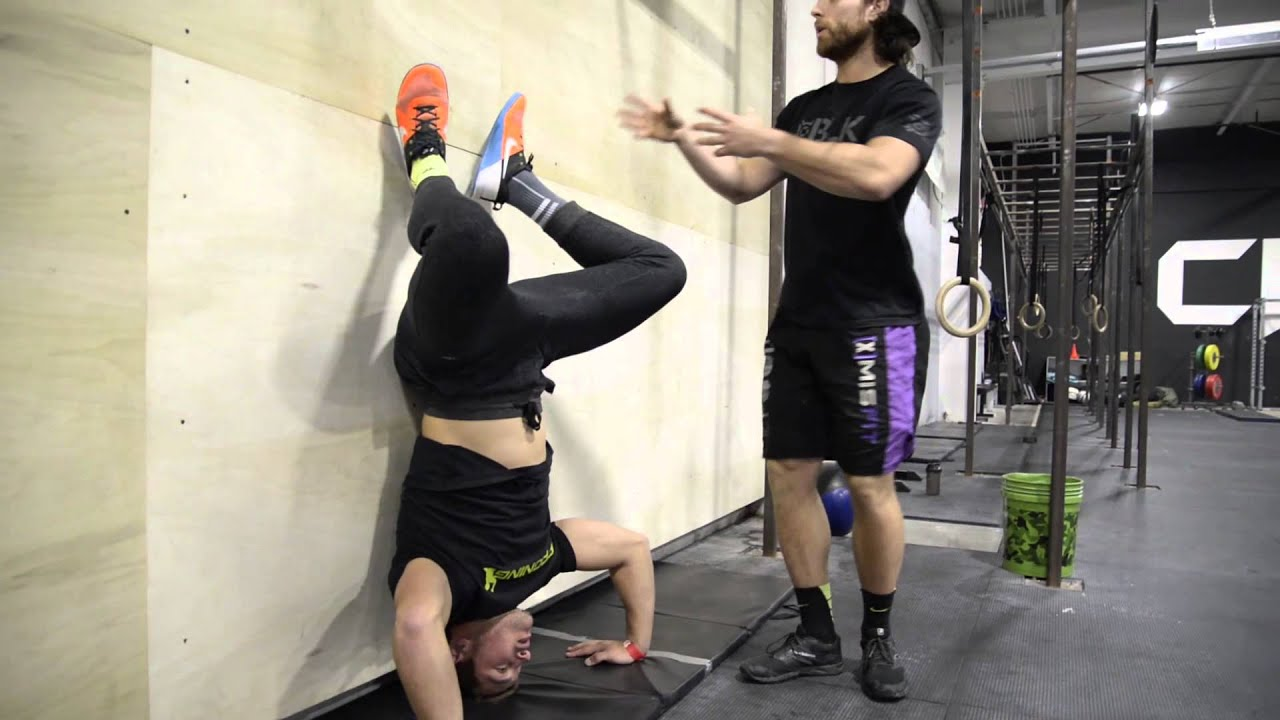 Crossfit Games Open Handstand Push Up Tips Youtube