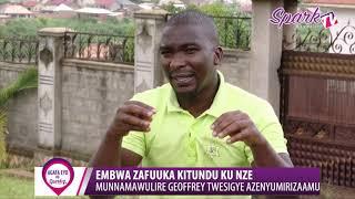 Munnamawulire Geoffrey Twesigye yenyumiriza mu kulunda mbwa
