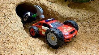 Assembling Fire Truck Toys