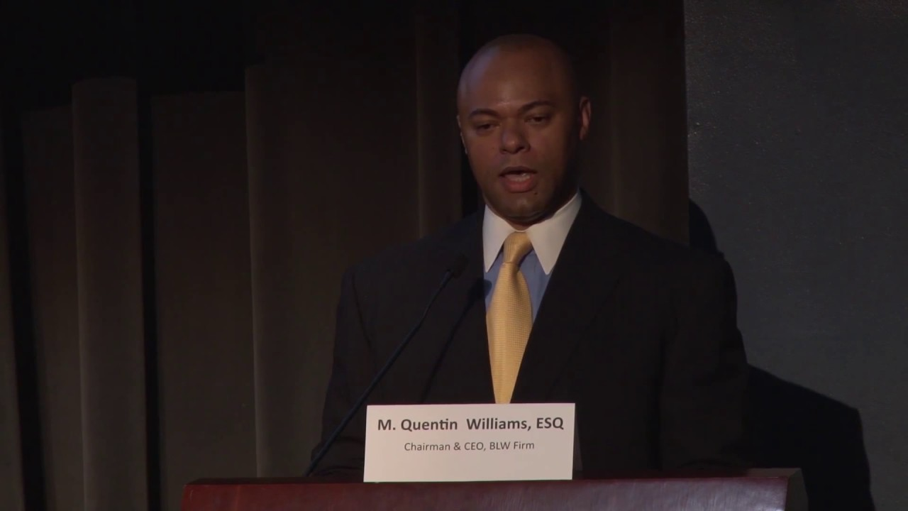 Book M  Quentin Williams for Speaking, Events and