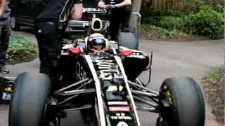 The Lotus F1 Team open the Grand Prix Ball 2012 at the Hurlingham Club