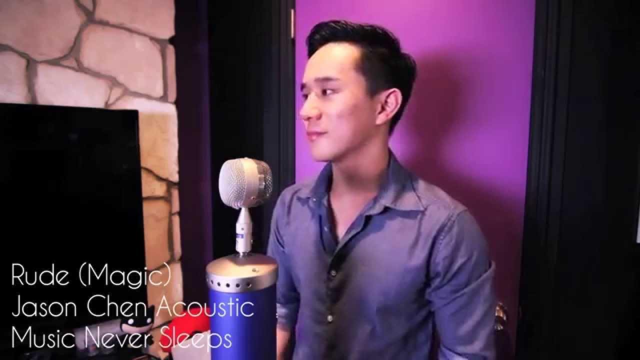 Rude - Magic (Jason Chen Cover) - YouTube