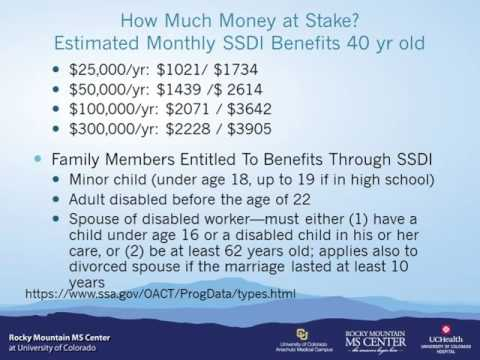 Multiple Sclerosis Webinar: SSDI Explained