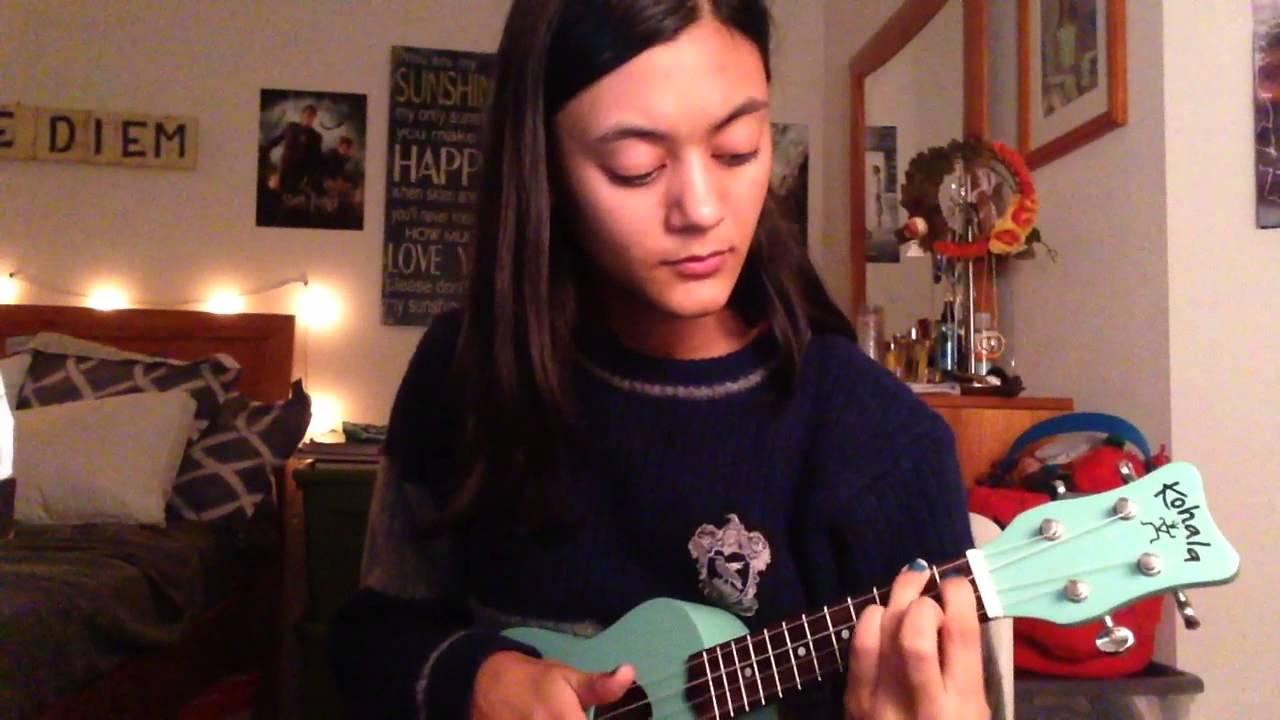 Hey there delilah plain white t s ukulele cover