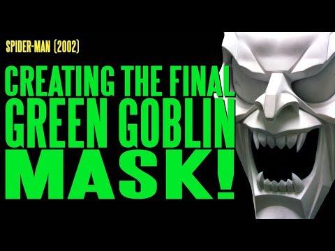 SPIDER-MAN Final Green Goblin Mask