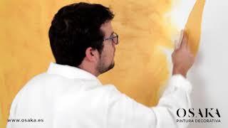 Cómo aplicar correctamente la pintura de alta decoración EFECTO ARENA de OSAKA